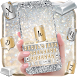 silver gold keyboard shining luxury diamond by Keyboard Theme Factory