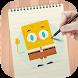How to draw Spongebob by DrawingTuto