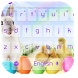 Cute Easter Bunny Keyboard by cool wallpaper