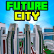 Future City MCPE Map by Miner Block Chain