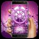 Purple Ferris wheel keyboard by Bestheme Keyboard Designer 3D &HD