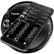 Dialer Circle BlackWhite Theme by Luklek
