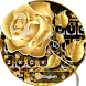 Golden Rose Keyboard Theme