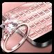 Rose Gold Diamond Keyboard by Cool Keyboard Theme Studio