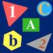 ABCD & 1234 for kids class by Examgroup