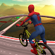 Impossible Superhero BMX Bicycle Spider Boy Stunts by Games Tech 3D - Stunts,Simulation & Shooting Games