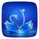 Crystal Swan Theme by Huizhang Theme