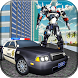 US Police Real Robot Car Transform: Snow City by Super Mobile Games