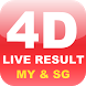 Live 4D Result (MY & SG) by M-Mobi Studio