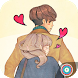 Anime Sweet Couple in Love by MEStudio