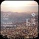 La Paz weather widget/clock by Widget Dev Team