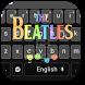 Love Beatles Keyboard Theme by Designer Superman