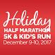 Holiday Half Marathon & 5k by Xact, LLC