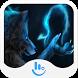 Glowing Wolf Keyboard Theme by Fashion News