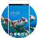 Sea Turtle Live HD Wallpaper Animal Theme by Mobo Theme Apps Team