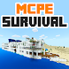 Lost Island Minecraft PE map by Miner Block Chain