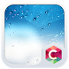 Blue Water Drops CLauncher by CG-Live-Wallpapers