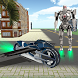 Flying Robot Bike Transform by Cipher Coders
