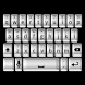 3D White Keyboard Skin by Stealthychief Keyboard Themes
