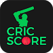 CricScore- Live Cricket Scores by ZERT INTERACTIVE