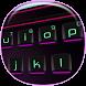 3D Neon Keyboard Theme by Super Keyboard Theme