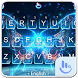 Neon Colorful Butterfly Keyboard Theme by Love Free Themes