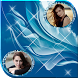 Abstract Dual Photo Frames by QuickLabTech