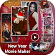 New Year Photo Video Maker with Music by Smart Tool Studio