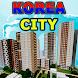 Korea Anju City MCPE map by Miner Block Chain