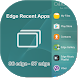 Recent Apps for Edge Panel by Edge Master