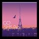 GO SMS Pro Paris Theme by MZ Development, LLC