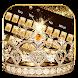 Gold diamond crown Keyboard Theme by Neko Art Theme