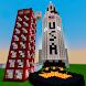 Mars Flight MCPE Map by Miner Block Chain