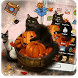 Kitty Pumpkin Theme by Cool Theme Love