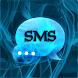 Blue Smoke Theme GO SMS PRO by Workshop Theme