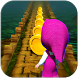 Masha Jump and the Bear Run Game by Panda Village Games Dev