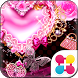 Decorative Hearts Wallpaper by +HOME by Ateam