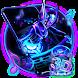 3D Neon Hologram DJ Music Theme by no.1 3D Theme