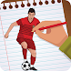 How to Draw football players 2018 soccer world cup by MultiverseGames