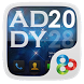 (FREE)Andy GO Launcher Theme by Freedom Design