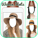 Beautiful Hats For Women Photo Frames by Picapps