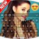 Keyboard For Ariana Grande & HD wallpapers by Alex devlopper