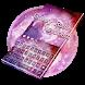 Galaxy Rose keyboard Theme by Rainbow Internet Technology