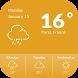 1 Weather Widget Free by Applock Security