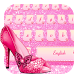 Pink Diamond shoes for girls by Bestheme Pink shining album collection