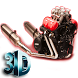 Motorcycle Engine V6 3D LWP