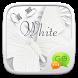 (FREE) GO SMS WHITE THEME by ZT.art