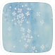 Blue Glitter Snow Theme by Featuredtheme