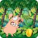 Jump Up Porky Piggy Adventure by Runner Arcade Game Kids
