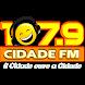 Rádio Cidade FM, 107,9 by AudioBras